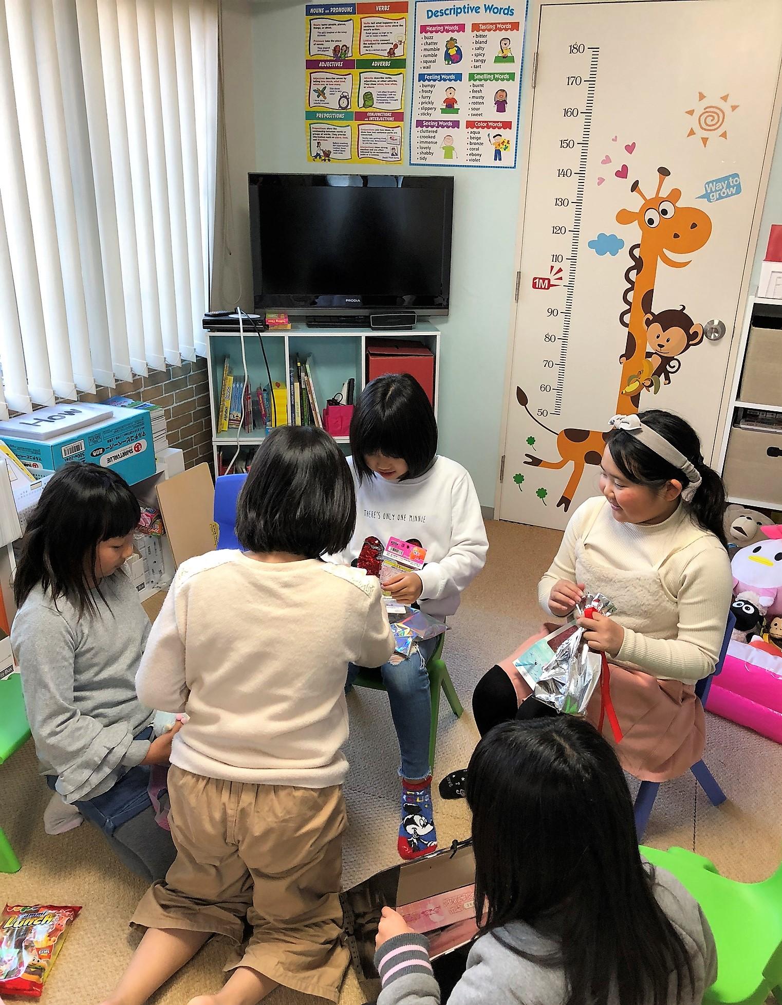 クリスマス会@めじろ英語教室